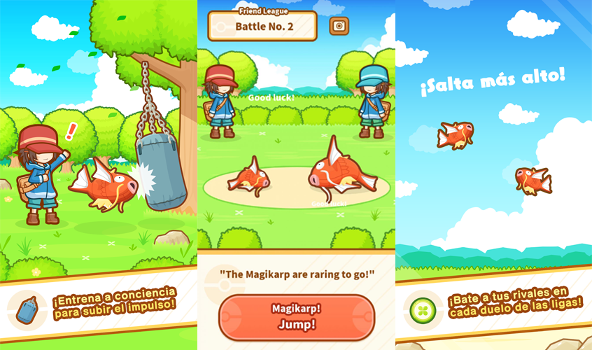 Magikarp Jump gameplay 2