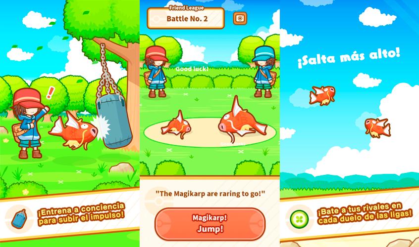 Magikarp Jump gameplay 2