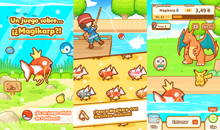 Magikarp Jump gameplay