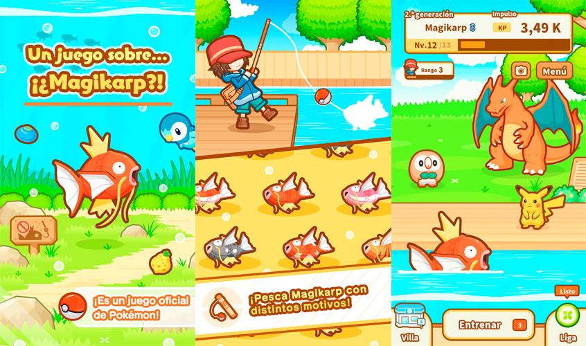 Magikarp Jump gameplay