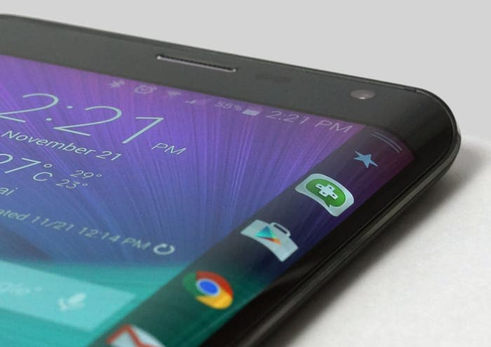 Galaxy note edge pantalla