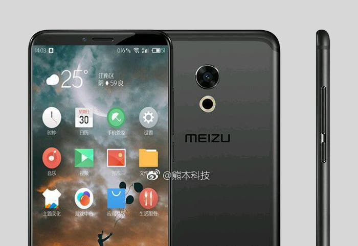 diseño del Meizu Pro 7