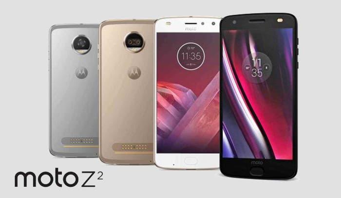 Motorola Moto Z2 colores