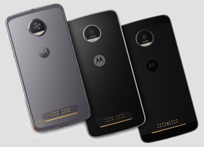 Motorola Moto™ Z2 concepto