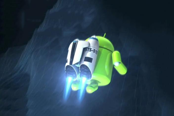 movil Android va lento cohete