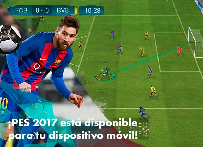 Pro Evolution Soccer 2017 para Android