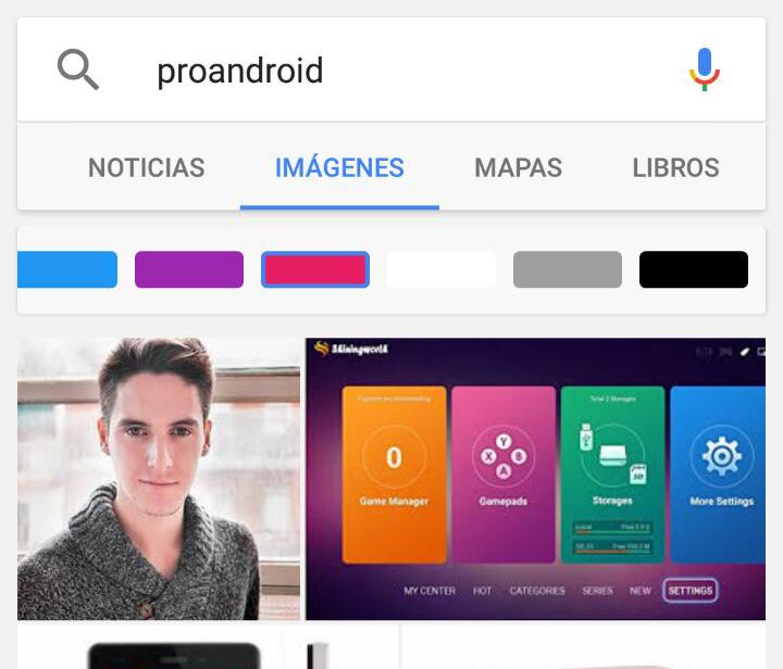 como buscar una imagen en google desde android