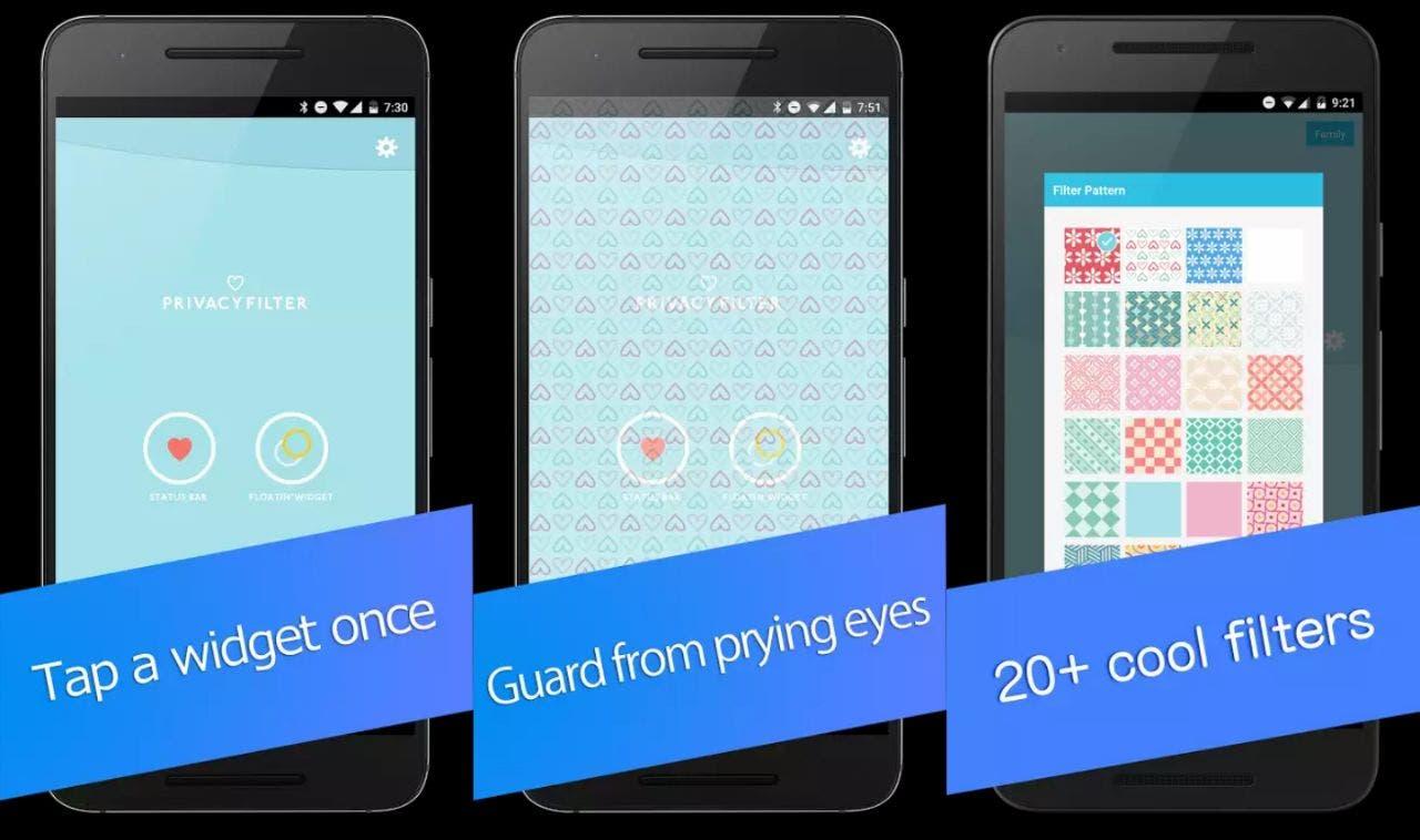 privacy filter pro capturas