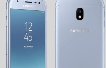 El diseño oficial del Samsung Galaxy J3 2017 será metálico