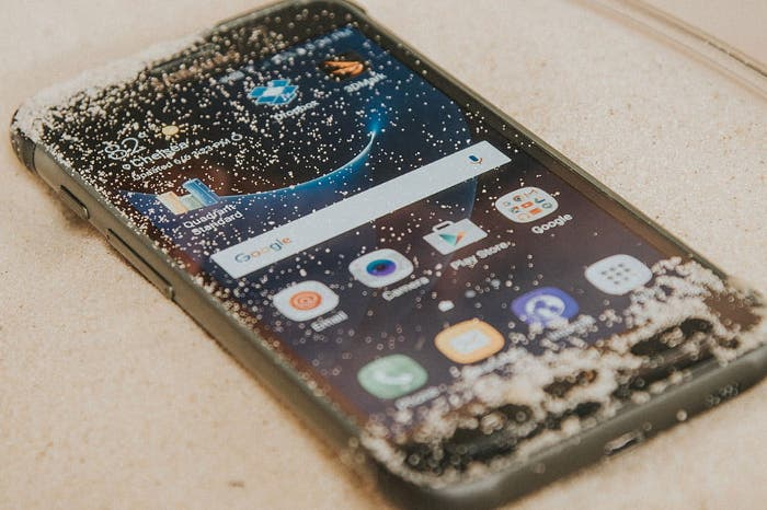 Samsung Galaxy S7 active arena