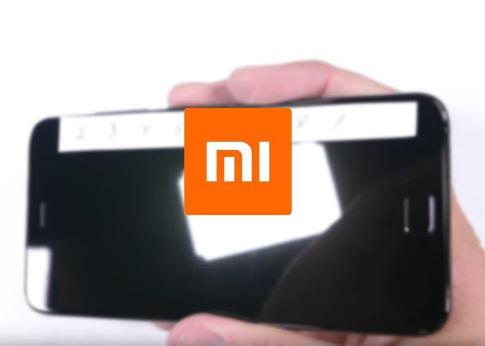 Test de resistencia del Xiaomi Mi6