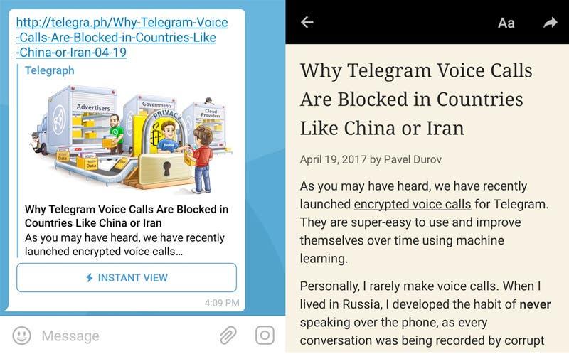 capturas de pantalla telegram