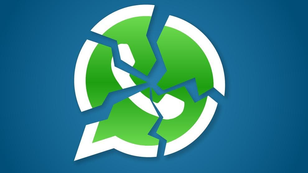 logo whatsApp roto