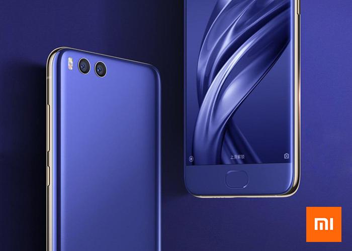 Xiaomi Mi6 en color azul