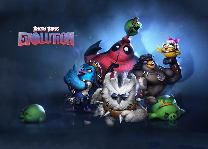 Angry Birds Evolution ya disponible en Google Play