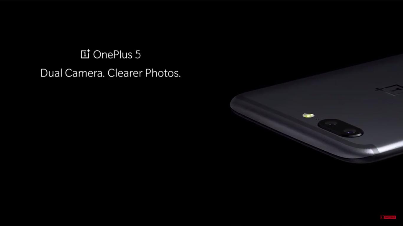 Parte trasera del OnePlus 5