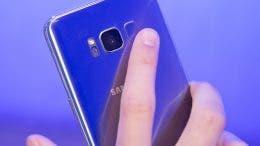 Samsung Galaxy S8 sensor de huellas