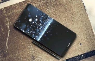 Nuevas imágenes del Samsung Galaxy Note 8 revelan su diseño