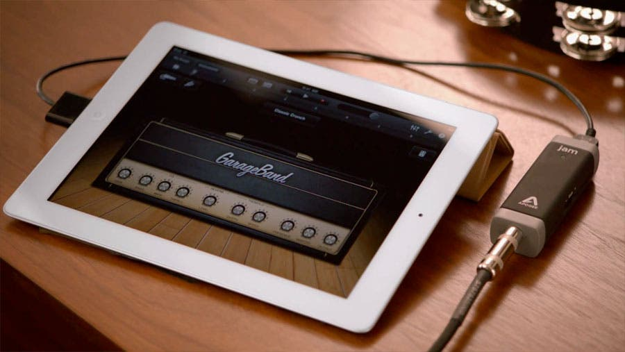 garage band ipad