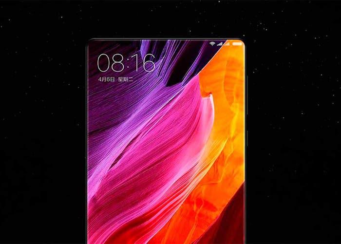 Así podría ser la nueva pantalla del Xiaomi Mi MIX 2
