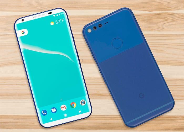 La pantalla del Google Pixel XL 2 sería similar a la del Samsung Galaxy S8