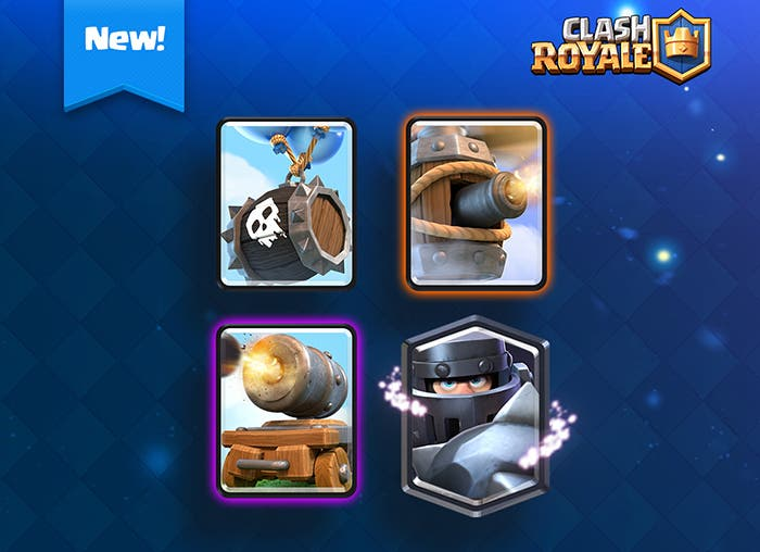 Nuevas cartas en Clash Royale
