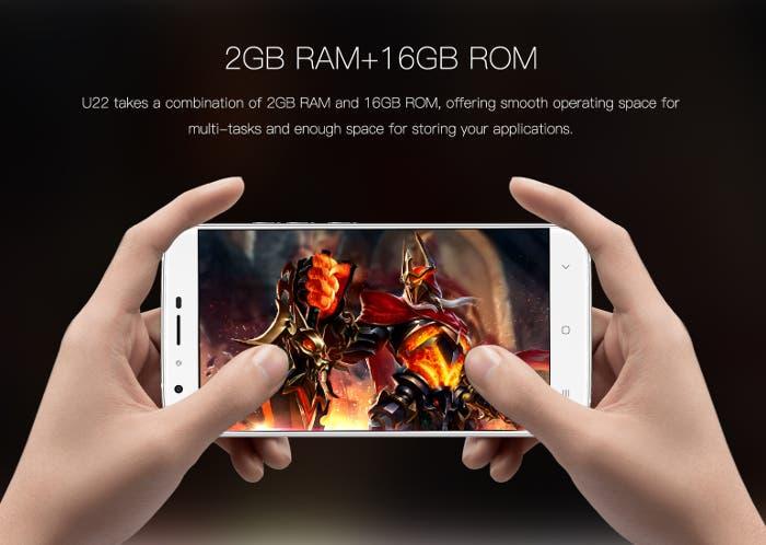 Oukitel U22, un smartphone con 4 cámaras y precio ajustado
