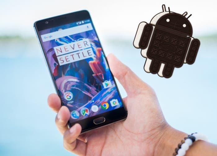 Android O para el OnePlus 3 y 3T llegará oficialmente este año