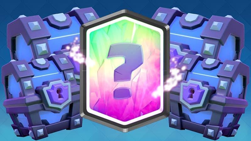 Probabilidad de conseguir una carta legendaria en cofre supermágico en Clash Royale