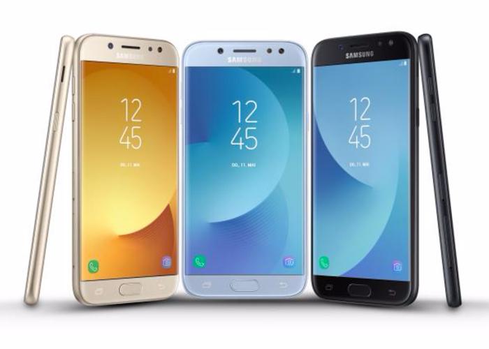 Características y precio del Samsung Galaxy J3, J5 y J7 2017