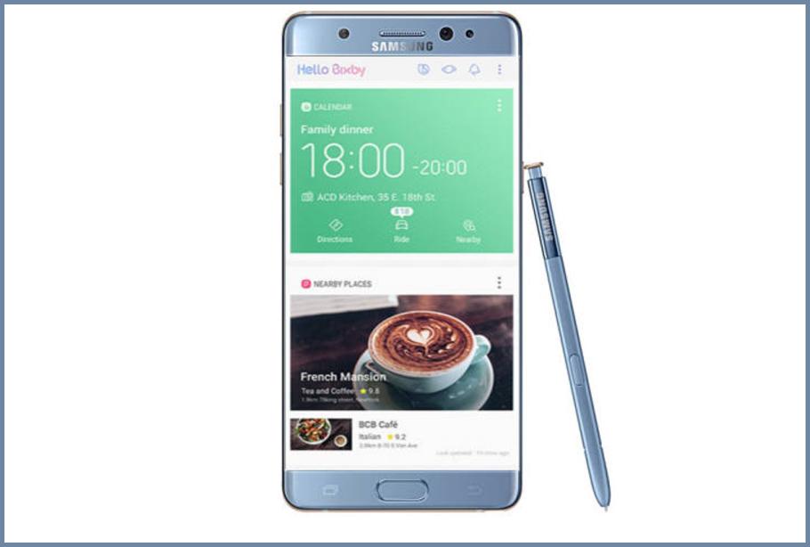 El Samsung Galaxy Note 7R llegará con Bixby el día 7 de julio