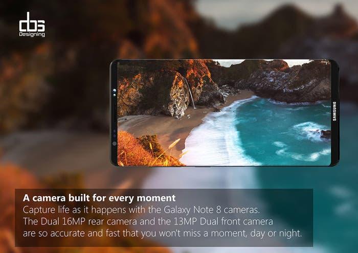 El precio del Samsung Galaxy Note 8 podría ser más alto de lo esperado