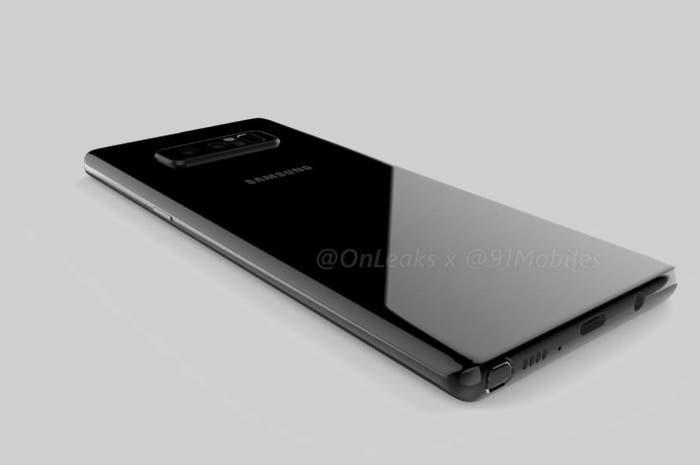 El diseño del Samsung Galaxy Note 8 aparece en un vídeo