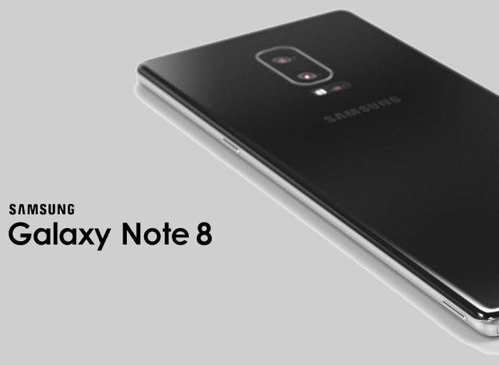 El diseño oficial del Samsung Galaxy Note 8 se filtra en un teaser real