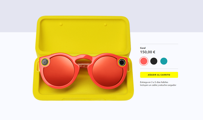 Snapchat Spectacles comprar