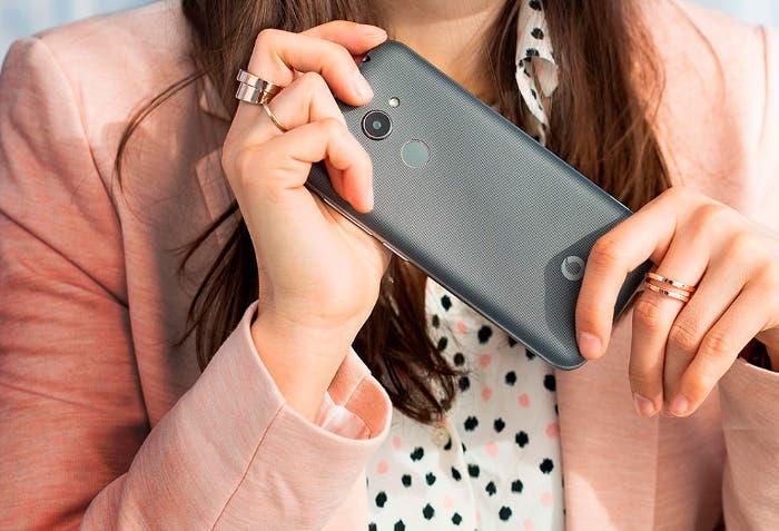 Vodafone Smart N8, un móvil barato con lector de huellas y Android 7