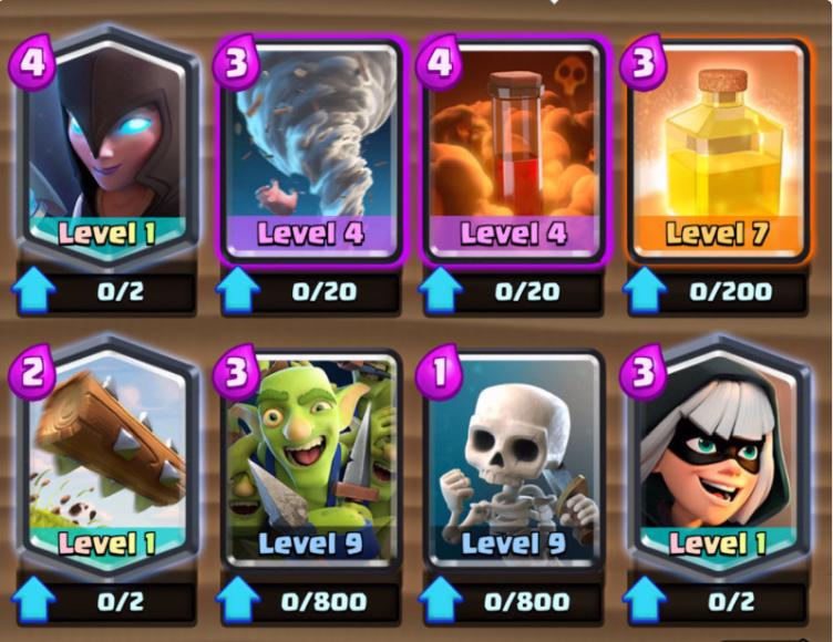 ajustes de equilibrio en Clash Royale