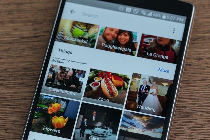 Google Fotos para Android elimina una de sus opciones más populares