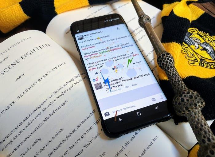 Facebook para Android se une al aniversario de Harry Potter
