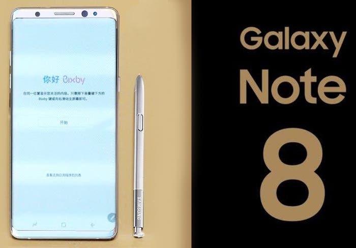 El almacenamiento del Samsung Galaxy Note 8 podría tener dos versiones