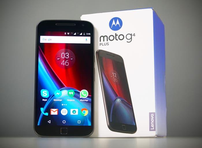 Consigue esta oferta del Moto G4 Plus a un precio increíble