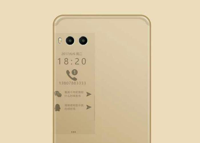 Filtradas imágenes del Meizu Pro 7 y su pantalla secundaria
