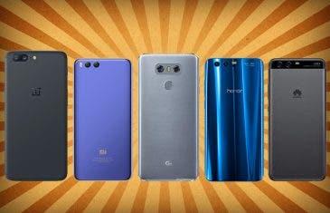 Xiaomi Mi 6 y OnePlus 5, entre los mejores móviles de gama alta a precio de gama media