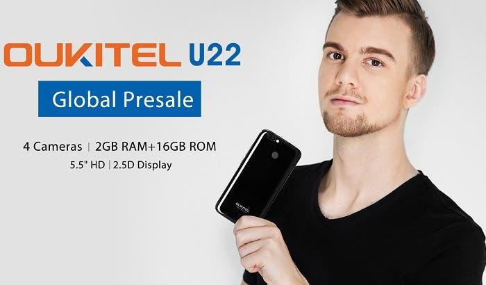 Oukitel U22 ya disponible en preventa por sólo 62,19 euros