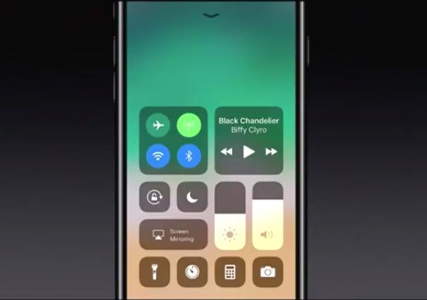 panel de notificaciones apple