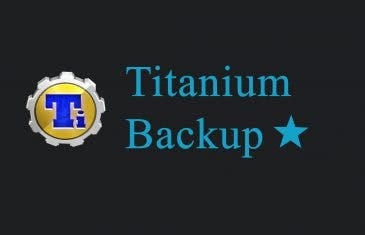 Qué es Titanium Backup y para qué sirve