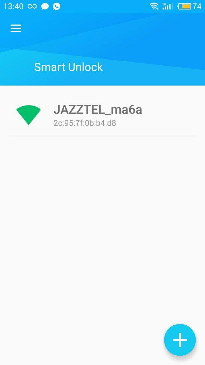 smart unlock android