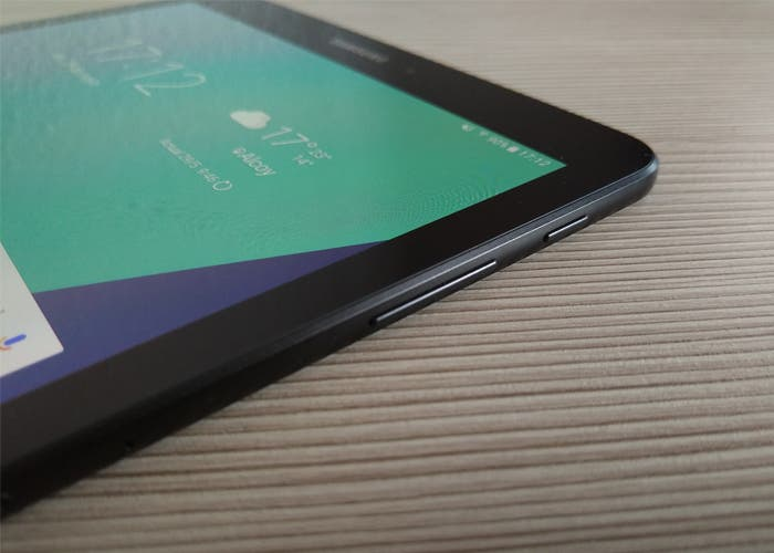 Botones en el análisis de la Samsung Galaxy Tab S3