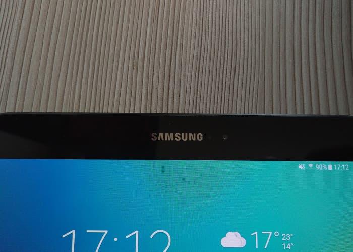 Logo de Samsung en el análisis de la Samsung Galaxy Tab S3