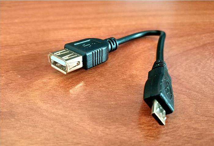 ¿Qué es un cable OTG y qué móviles son compatibles?